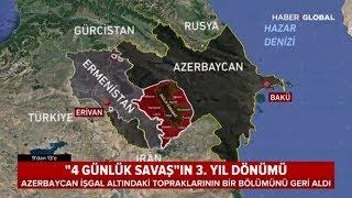 4 Günlük Savaşın Yıl Dönümü - Azerbaycan Topraklarının Bir Bölümünü Ermenistan'dan Geri Aldı