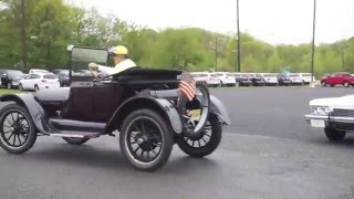 1915 Buick model C-24 -starting, driving, engine running