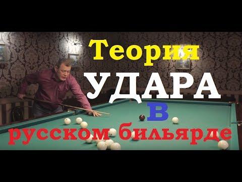 Теория удара в русском бильярде от Владимира Ломерта