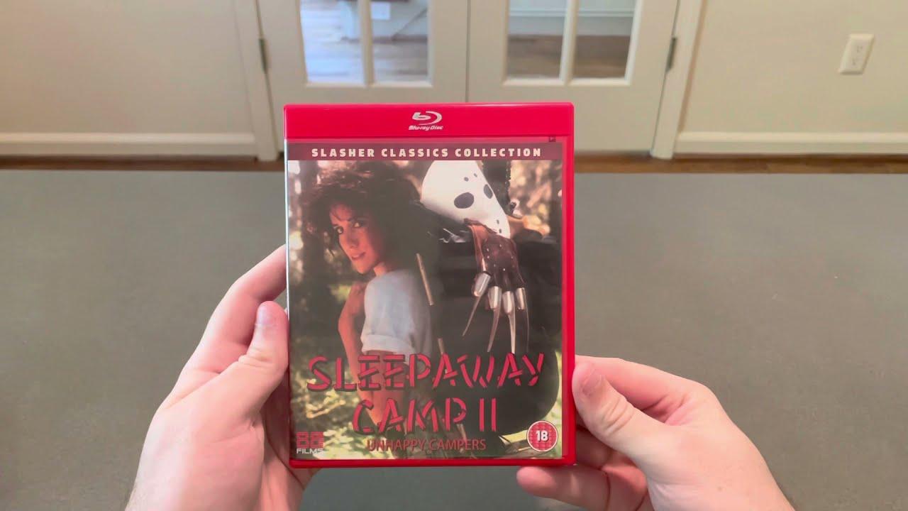 Download Sleepaway Camp II: Unhappy Campers (1988) Dir. Michael A. Simpson 88 Films Blu-ray Unboxing