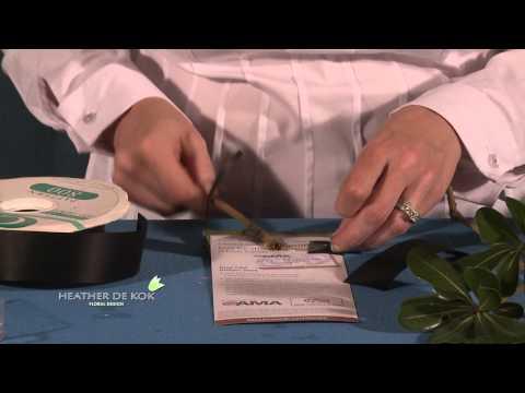 Flower Design Tips on FLORAL POCKET SQUARE.mov