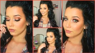 GRWM  Talk Through | Fall Makeup Look!