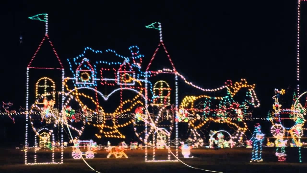 Cuneo Mansion Christmas Lights 2020 Cuneo Museum Winter Wonderland   YouTube