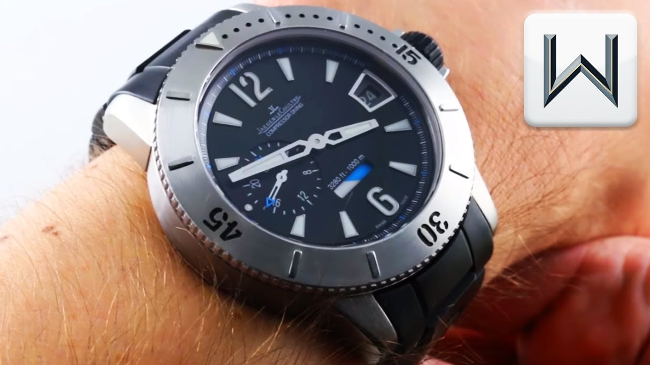 ba4f0bb2857 Jaeger-LeCoultre Master Compressor Diving GMT Limited Edition Q187T170  Luxury Watch Review