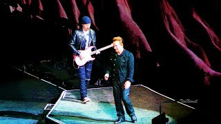 u2 with or without you live 4k hq audio soldier field chicago june 4th 2017
