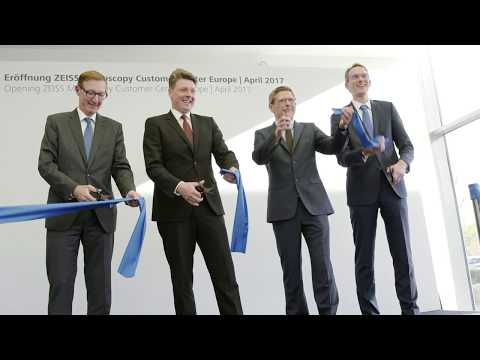 ZEISS Microscopy Customer Center Europe Opening