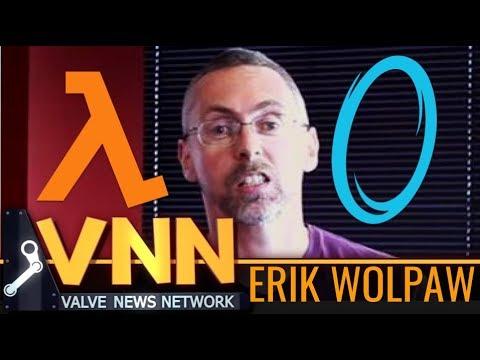 Portal's Writer, Erik Wolpaw, RETURNS to Valve
