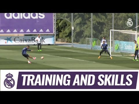 Casemiro, Cristiano Ronaldo and Kroos strike training-ground stunners!