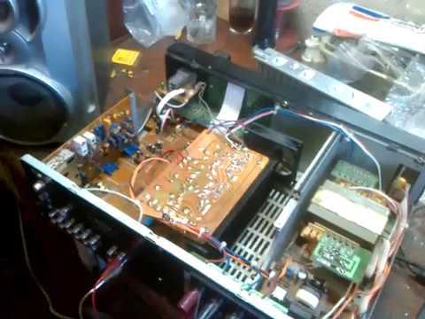 Modificare riciver audio marca SONY cu kit stereo TDA7294