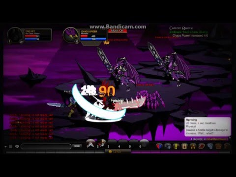 AQW How To Get Chaos Slayer