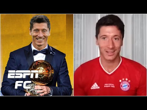 Bayern Munich's Robert Lewandowski opens up about the cancelled 2020 Ballon d'Or | ESPN FC