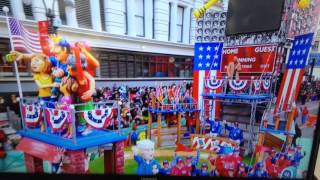 Macy's Thanksgiving Day Parade!  Andy Grammer and Ronald McDonald