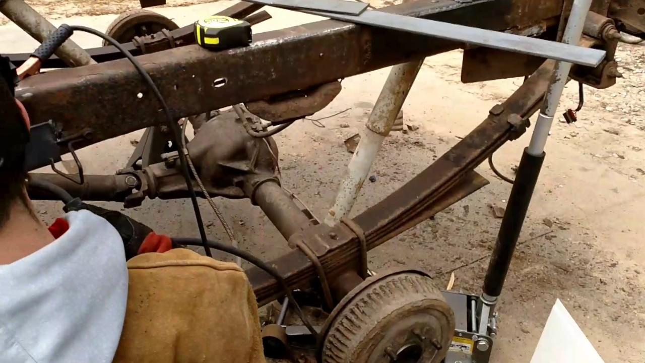 1989 GMC Sierra K-1500 frame repair