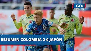 Japón vs Colombia (0 - 2): goles, resumen y mejores acciones del partido