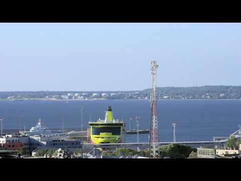 Port of Tallinn - Timelapse HD