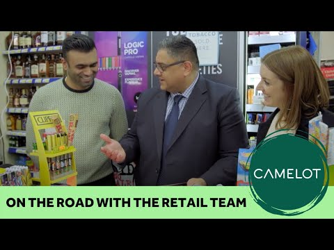 On The Road With The National Lottery Retail Team
