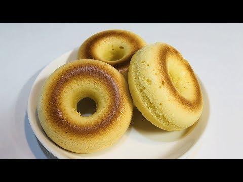 「ホットケーキミックス」で、焼きドーナツを作ります!
