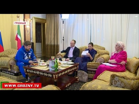 Рамзан Кадыров дал интервью РИА Новости