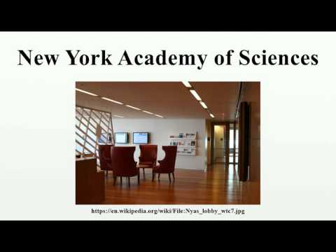 New York Academy of Sciences