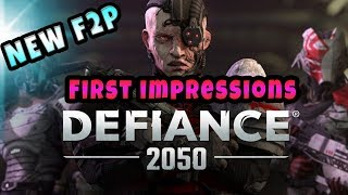 Defiance 2050 New F2P MMO available on Ps4 / PC (First 30 Mins Thoughts And Impressions)