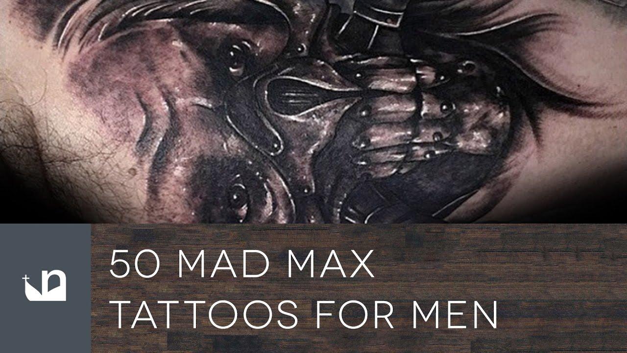 50 Mad Max Tattoo Designs For Men – Fury Road Ideas