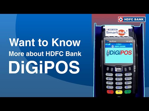HDFC Bank DigiPOS - A revolutionary payment solution