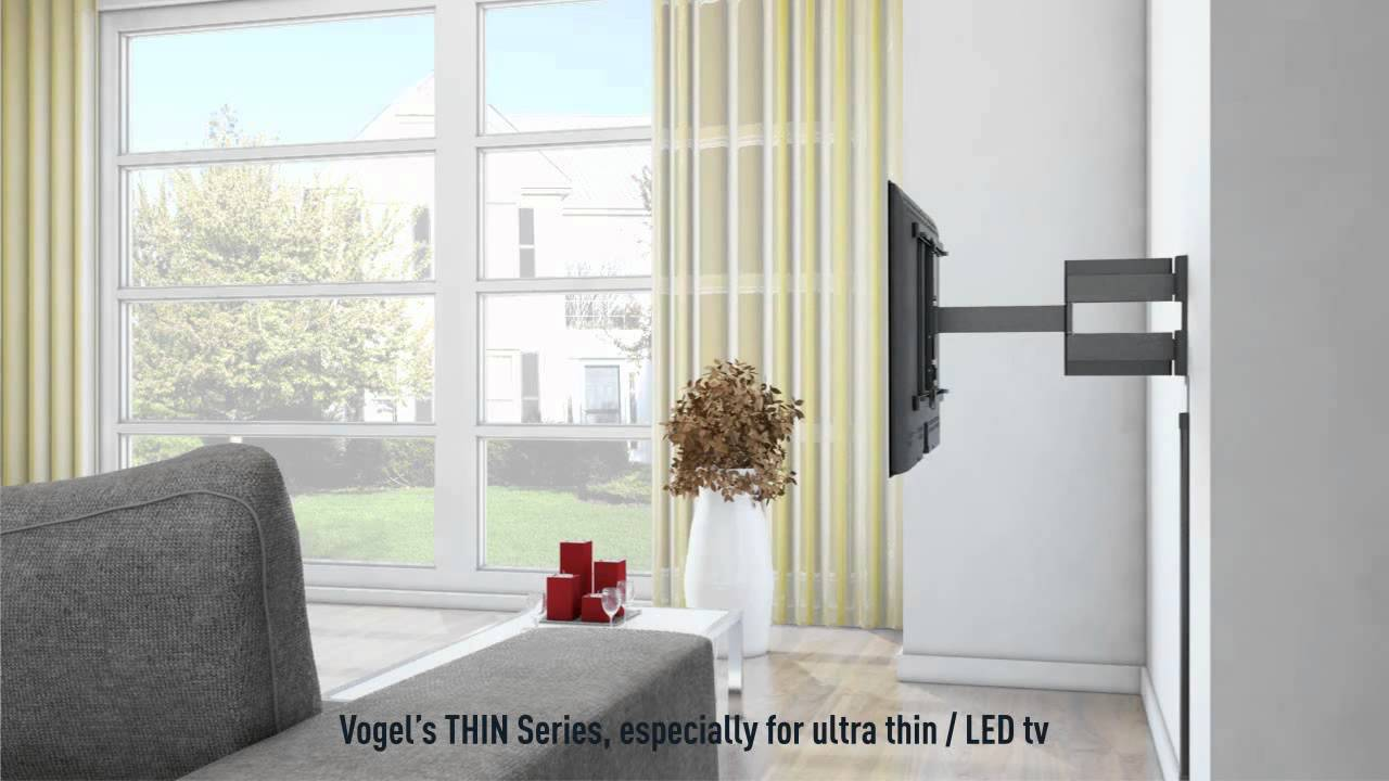 uchwyt do telewizora na cian firmy vogel 39 s youtube. Black Bedroom Furniture Sets. Home Design Ideas