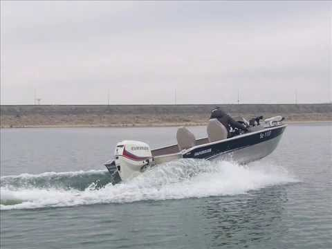 Aluminium boat MARINE 20H DLX  &  EVINRUDE 115 /Алуминиева лодка MARINE 20H DLX  и  EVINRUDE 115/