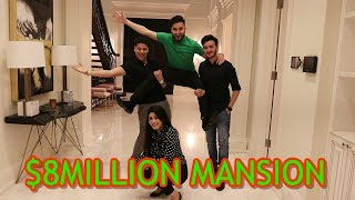 8 MILLION DOLLAR MANSION SURPRISE (BIRTHDAY VLOG)