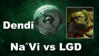Dendi Pudge - Na`Vi vs LGD - The International 2013