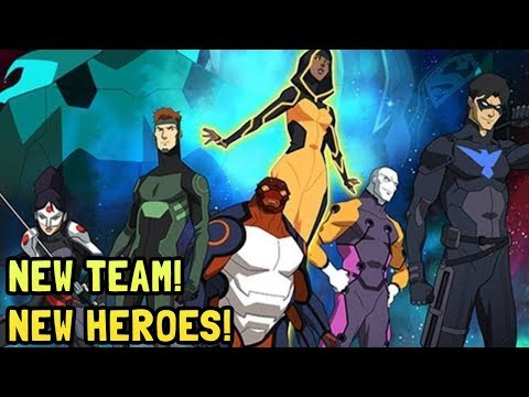 Young Justice Season 3 New Team Characters Revealed and Superboy Leaked Photos