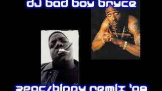 DJ BADBOY BRYCE - 2PAC VS NOTORIOUS B.I.G - FRIGHT NIGHT / NASTY GIRL (RARE)