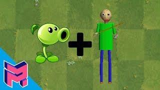 - Plants vs Zombies Fusion Hack Animation Peashooter Baldi