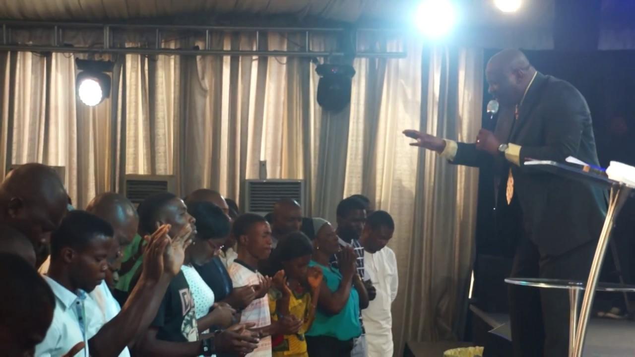 Rev  Billy Efik @ King's Assembly, Port-Harcourt