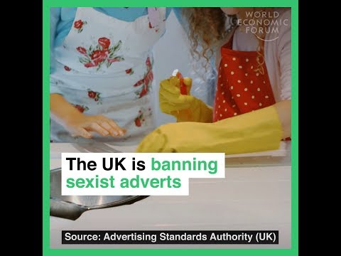 The UK is banning sexist adverts