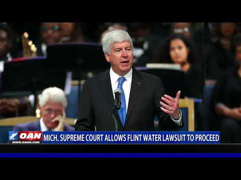 Mich. Supreme Court allows Flint Water lawsuit to proceed