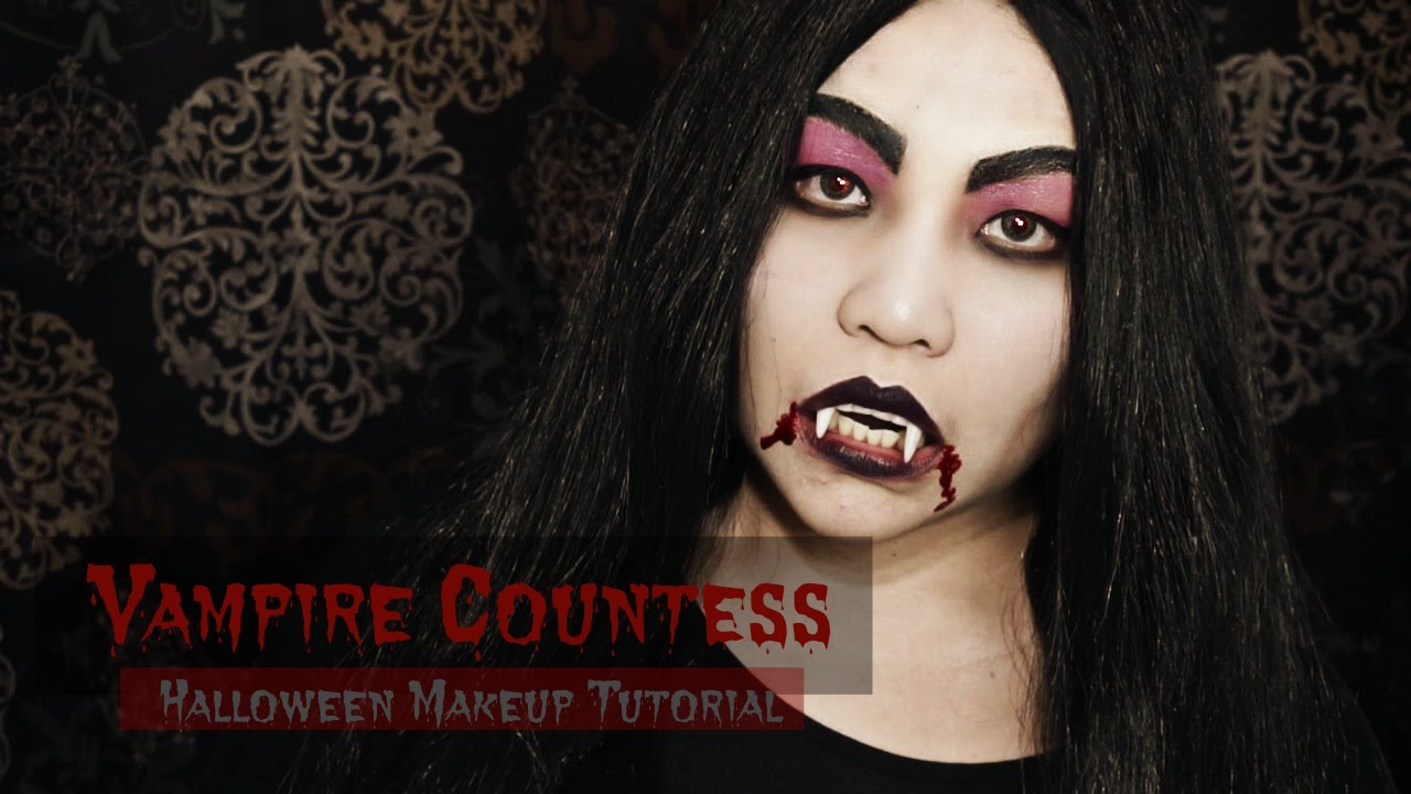 Vampire Countess | Halloween 2015 Makeup Look - YouTube