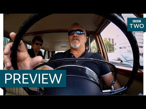 Paul Hollywood drives a Mercedes-Benz 600 - Paul Hollywood's Big Continental Road Trip - BBC Two