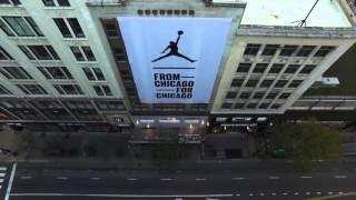 Jordan Store Chicago Flight 23 Teaser
