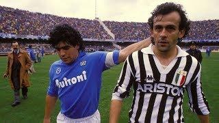 Michel Platini Vs Maradona 1986 - Juventus x Napoli streaming