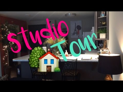 Studio Apartment Tour!!