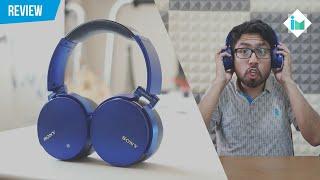 Los audífonos más potentes que he probado - Sony MDR-XB950B1   Review