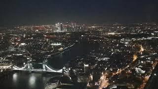 런던 더샤드에서...야경 감상