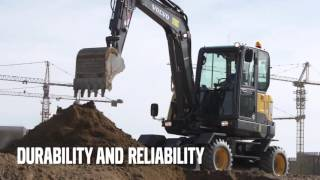 Volvo EW60E Compact excavator - Profitability