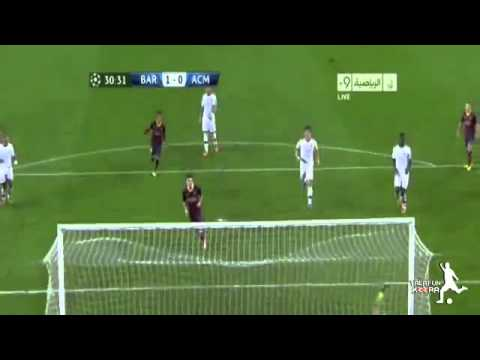Barcelona Vs Ac Milan 3-1 2013 Goals & Highlights (06/11/2013) HD