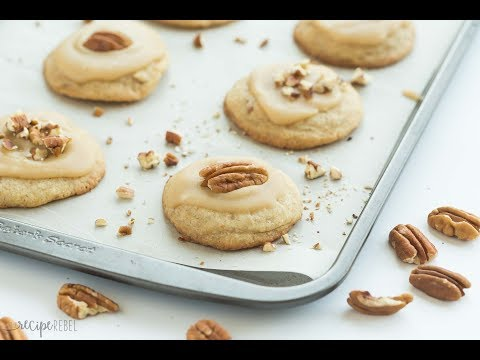 Brown Sugar Pecan Cookies Recipe Video