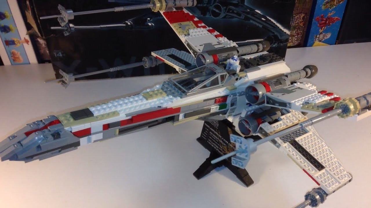 Lego Star Wars 7191 Ucs X Wing Fighter From 2000 Ultimate Collector