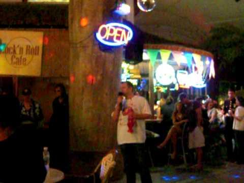 Junco karaoke in Vegas
