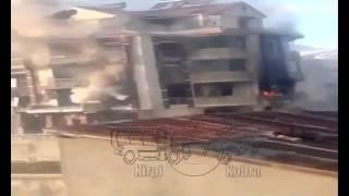 Yüksekova Binadaki Teröristlerle Çatışma Görüntüleri