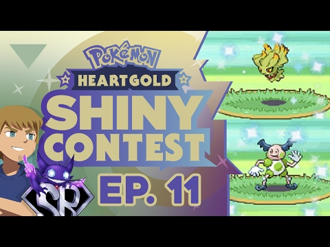 SO MANY SAFARI ZONE SHINY POKEMON! - Pokemon Heart Gold Shiny Contest EP 11 W/ PokeMEN & Suuperblah